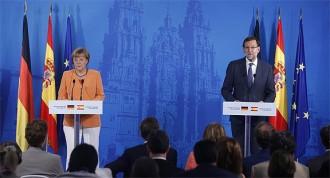 Merkel, sobre Catalunya: «S'han de respectar els tractats que garanteixen la sobirania i integritat de cada estat»