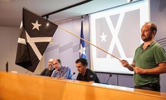 La Bandera Negra onejarà en 20 ajuntaments de Catalunya per la Diada