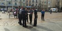 Expectació per un control rutinari dels Mossos a les clavegueres del Mercadal
