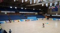 El Pavelló Olímpic ultima els detalls pel Mundial de Patinatge a Reus