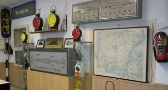 «Tarragona i el tren», una exposició sobre la relació del tren amb la ciutat