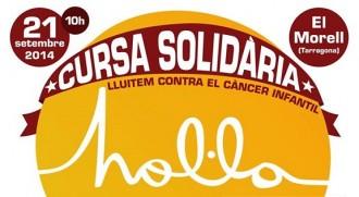 Més de 500 inscrits a la I Cursa Solidària Hol·la d'El Morell