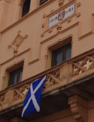 Sitges, amb Escòcia