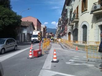 Pla d'ocupació per remodelar les voreres del passeig Vitamènia a Palautordera