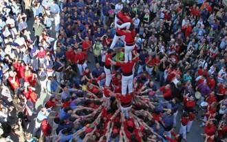 Els Minyons de Terrassa, a la Festa Major de Calella aquest dissabte