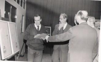 Concurs de pintura del XXV Aniversari d'AGUT SA (febrer de 1966) / Foto: Rafel Comes