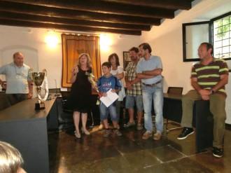 Sant Antoni de Vilamajor rep al campió mundial de trial Martí Yélamos