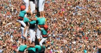 Barcelona vol sumar-se a la festa castellera aquest diumenge