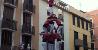 La Colla Vella recupera a Vilanova el 3 de 8 amb el pilar