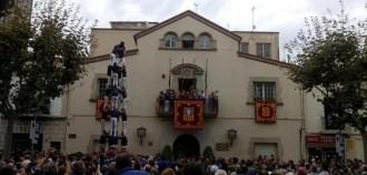 Borinots i Capgrossos porten castells de 9 a Esplugues