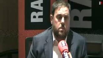 L'entrevista d'Oriol Junqueras a RAC1 en deu frases