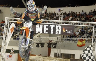 Ivan Cervantes, campió estatal de Superenduro 2014