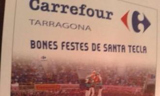 Carrefour felicita Santa Tecla amb un 5 de 9 amb folre dels Verds al Concurs