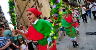 Misericòrdia dóna el protagonisme als nens i nenes del seguici petit de Reus