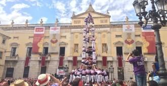 Les colles de Tarragona demostren ofici per Santa Tecla