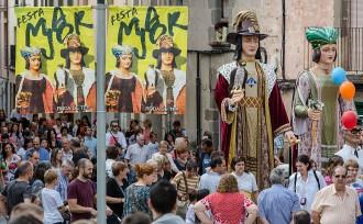 Els gegants clouen una lluïda festa major de Roda de Ter