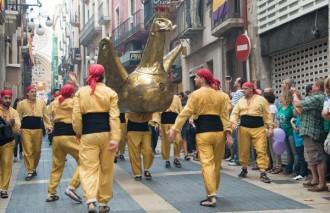 El Seguici Festiu surt per Santa Tecla