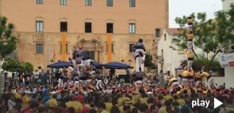 Recupera la primera jornada del Concurs de Castells a Torredembarra