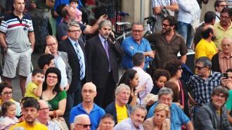 El delegat del Govern al Camp es suma a la concentració de Reus