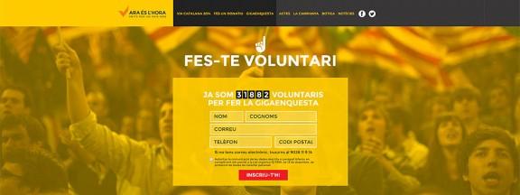 100.000 voluntaris per un país nou