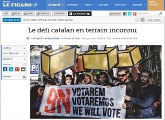 «El desafiament català, en territori desconegut» segons Le Figaro