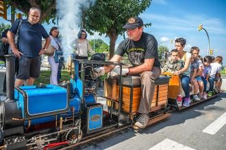 La Festa del Tren s'atura a l'estació de Santa Eugènia de Berga