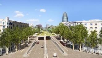 Vés a: El túnel de les Glòries, previst per a mitjan 2017
