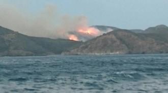 Estabilitzat l'incendi de Cala Montjoi