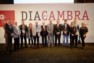 La Cambra de Comerç premia nou empreses d'Osona per la seva trajectòria