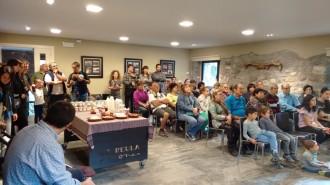140 persones participen en les visites de la Ruta de les Formatgeries
