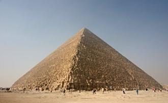 Com era la piràmide de Gizeh acabada de construir?