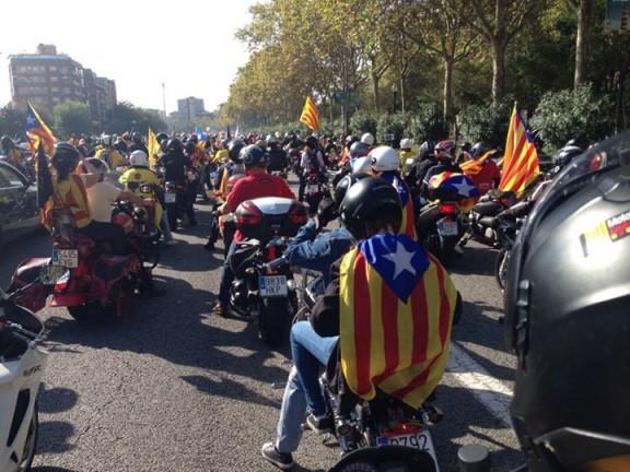 La Motorada que recorrerà tot Catalunya a favor de la independència sortirà de Cardona i Solsona