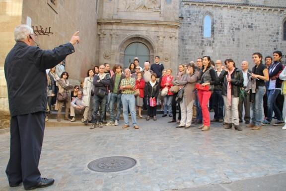 Mig centenar de persones tafanegen la Solsona de 1714 de la mà de Mn. Enric Bartrina