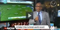 Un presentador aguanta 34 hores seguides informant sobre el temps