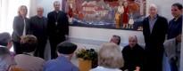 S'inaugura una majòlica a Sant Llorenç de Morunys
