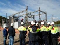 Una quarentena de Mossos d'Esquadra del Solsonès a les Jornades d'Endesa sobre riscos elèctrics
