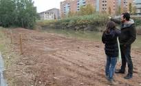 L'Ajuntament endreça un tram del Parc del Cardener