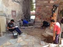 Uns estudis arqueològics inspeccionen la zona del castell de Vilamajor