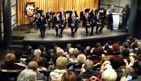 L'estrena de «L'amic Eusebi Metiño» omple l'Espai Plana de l'Om