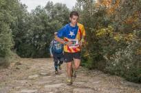 Josep Mas, guanya la Centúria Trail de la via romana del Capsacosta