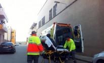 Roba en un edifici, es lesiona a l'escapar i acaba a l'hospital a Tàrrega