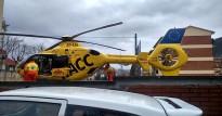 Un operari, ferit en caure mentre reparava un pal de telefonia a Ripoll