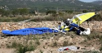 Mor el pilot de l'avioneta accidentada al Pla de Santa Maria el passat octubre