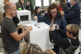 El «no» es va quedar a zero vots en 110 municipis el 9-N