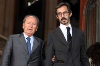 Josep Lluís Núñez entra a la presó de Quatre Camins