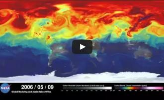 Així circulen les emissions de CO2 per l'atmosfera