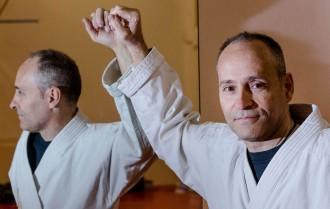 Josep Ginestet: «El rocky ryu és un estil de karate que engloba tot l'ésser humà»