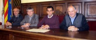 Solsona i Cardona fan pinya pel desenvolupament econòmic conjunt del territori