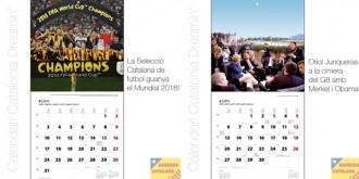Un calendari imagina els triomfs de la Catalunya independent