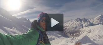 Vídeo: Kilian Jornet tasta la neu... i acaba amb una bona patacada